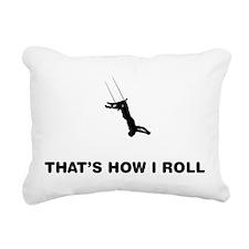 Trapeze Rectangular Canvas Pillow