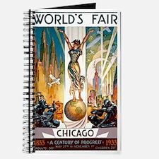 Vintage Chicago Worlds Fair B Journal