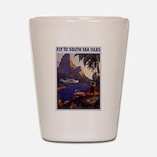 Vintage South Sea Isles Travel Shot Glass