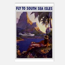 Vintage South Sea Isles Travel Postcards (Package