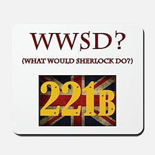 What Would Sherlock Do? Mousepad