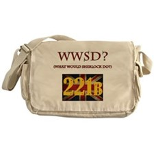 What Would Sherlock Do? Messenger Bag