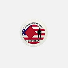 5th Infantry Division Veteran Mini Button (10 pack