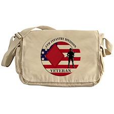 5th Infantry Division Veteran Messenger Bag