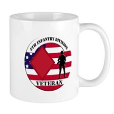 5th Infantry Division Veteran Mug