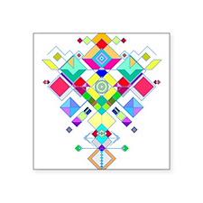 geometric arrow Sticker