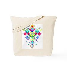 geometric arrow Tote Bag