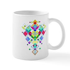 geometric arrow Mug