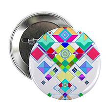 "geometric arrow 2.25"" Button"