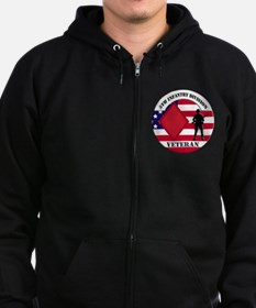 5th Infantry Division Zip Hoodie