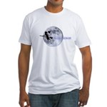 Witching Moon Fitted T-Shirt