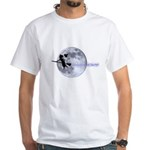 Witching Moon White T-Shirt