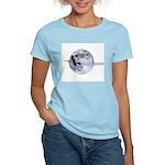 Witching Moon Women's Pink T-Shirt