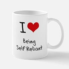 I Love Being Self Reliant Mug