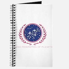 Star Trek United Federation of Planets Pink Journa