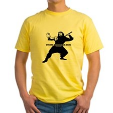 Cyborg Pirate Ninja Jesus T-Shirt