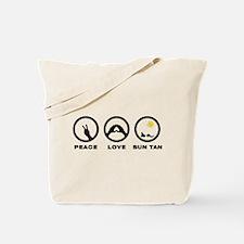 Sun Tanning Tote Bag