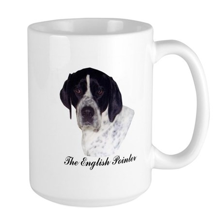 English Pointer Large Mug