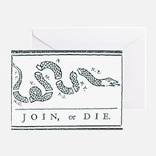 Join, or Die™ Greeting Card