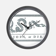 Join, or Die™ Wall Clock