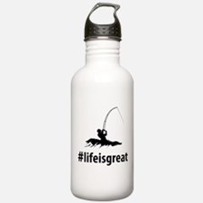 Surf Fishing Water Bottle