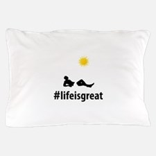 Sun Tanning Pillow Case