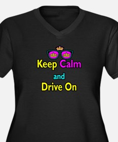 Crown Sunglasses Keep Calm And Drive On Women's Pl