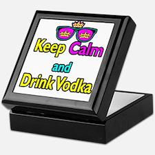 Crown Sunglasses Keep Calm And Drink Vodka Keepsak