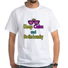 Crown Sunglasses Keep Calm And Do The Laundry Whit