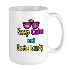 Crown Sunglasses Keep Calm And Do The Laundry Larg
