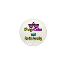 Crown Sunglasses Keep Calm And Do The Laundry Mini