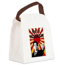 Abe Yasukuni Canvas Lunch Bag