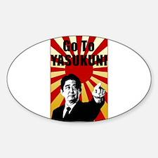 Abe Yasukuni Decal
