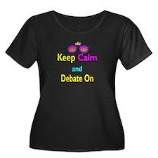 Crown Sunglasses Keep Calm And Debate On T