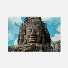 Smiling Buddha Rectangle Magnet