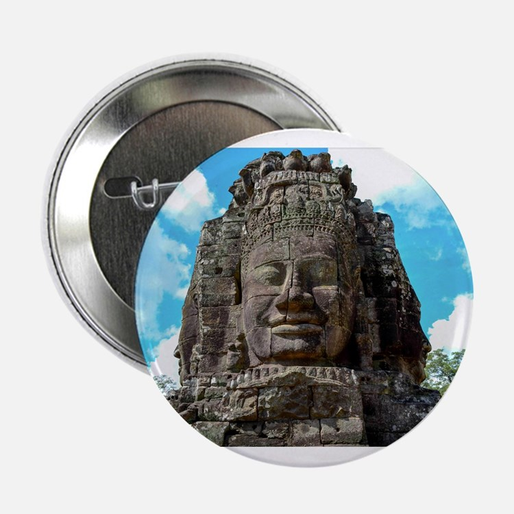 "Smiling Buddha 2.25"" Button"