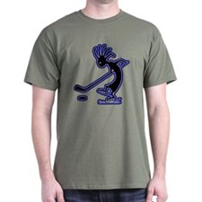 Kokopelli Hockey Player T-Shirt