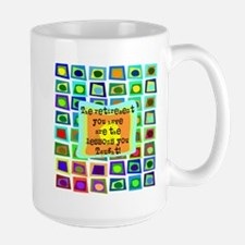 Retired Teacher PILLOW Funky Mug