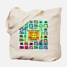 Retired Teacher PILLOW Funky Tote Bag