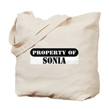 Property of Sonia Tote Bag