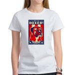 Obey the BOXER! USA 2-sided Women's T-Shirt