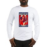 Obey the BOXER! USA Long Sleeve T-Shirt
