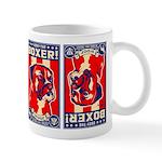 Obey the Boxer! Propaganda USA Coffee Mug