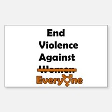 End Violence Against Everyone Decal