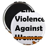 End Violence Against Everyone Magnet