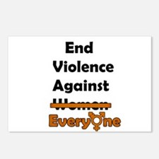 End Violence Against Everyone Postcards (Package o