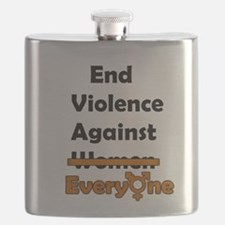 End Violence Against Everyone Flask