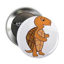 "Funky Box Turtle 2.25"" Button"