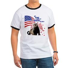 USA Patriotic ferret T-Shirt