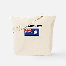 Custom Anguilla Flag Tote Bag